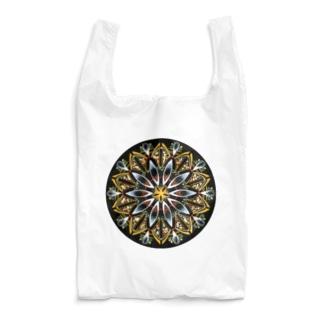 オレンジシャーベット-丸ver. Reusable Bag