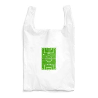 なんとかのサッカーグラウンド 芝 Reusable Bag