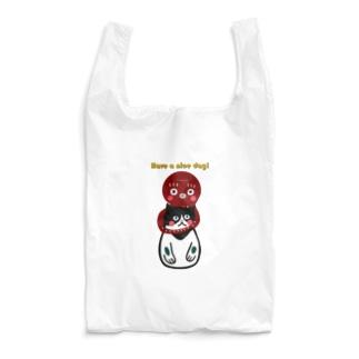 okamemonoのタコと猫 Reusable Bag