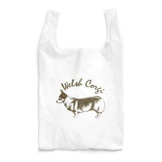 クラシック コーギー 左 Reusable Bag