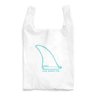 Love Single Fin Reusable Bag