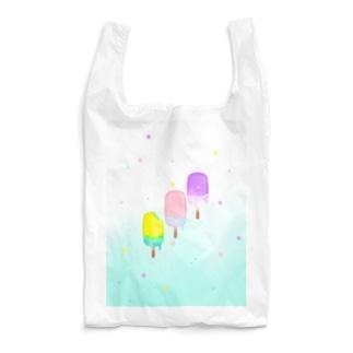 カラフルなアイスキャンディー Reusable Bag