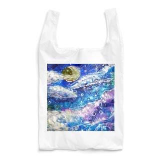 ☁️Night sky dream✨🌙 Moon Ver. Reusable Bag