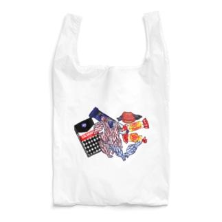 週末北欧部のフィンランドの紙くず Reusable Bag