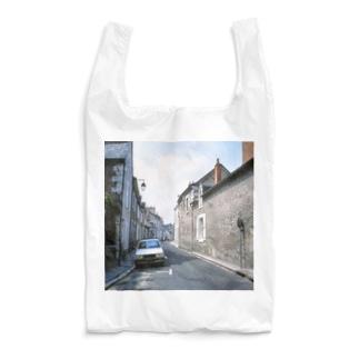 フランス:ブロワの風景 France: view of Blois Reusable Bag