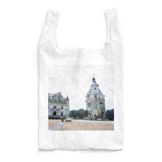 フランス:シュノンソー城 France: Château de Chenonceau Reusable Bag