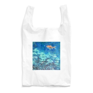 森游ぐ魚 Reusable Bag