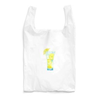 爽やかレモンスカッシュ Reusable Bag