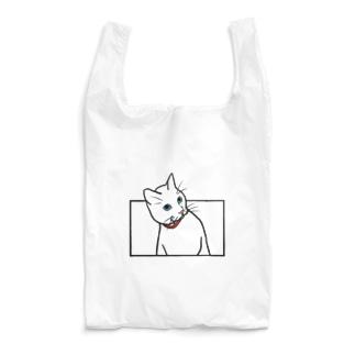 ひょっこりねこ(カラー) Reusable Bag
