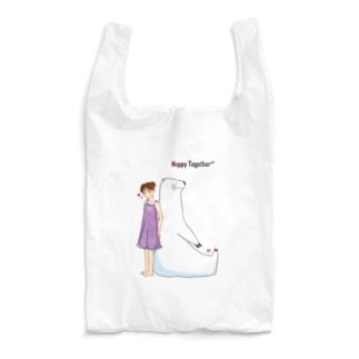しろくまさんといっしょ Reusable Bag
