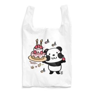 kyu13ズレぱんだちゃんのはっぴー Reusable Bag