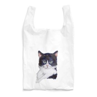 erichandmade × eric_joy_のはちわれさん Reusable Bag