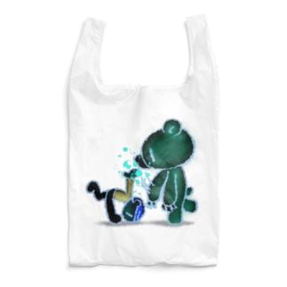 【各10点限定】いたずらぐまのグル〜ミ〜(#24/nega) Reusable Bag