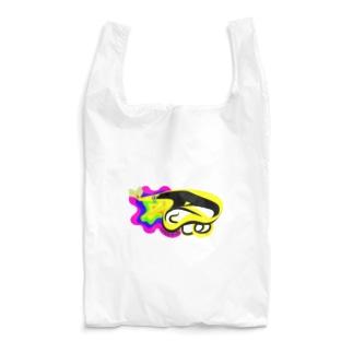 黒いハナヒゲウツボ Reusable Bag