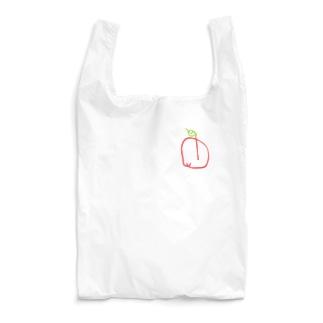2歳の描いたリンゴ Reusable Bag