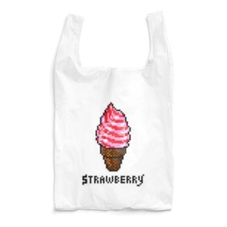 HARUのStrawberry Reusable Bag