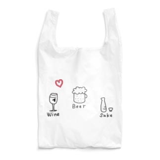 お酒 Reusable Bag