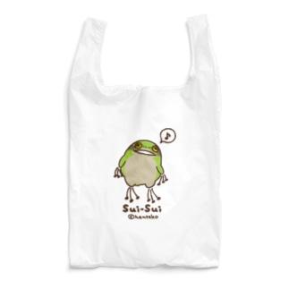 _---_のカエルのスイスイ Reusable Bag