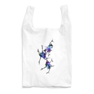 saoliicaの3羽のツル Reusable Bag