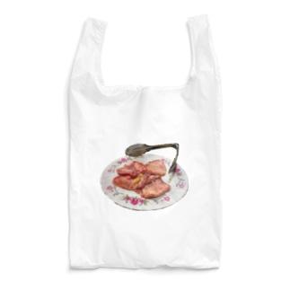 お肉(牛タン盛り付けver.) Reusable Bag
