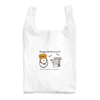 ハロウィンたまごと強がリス Reusable Bag