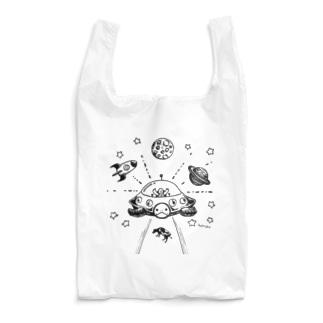 めろんぽっぷのお店だよの侵略スル☆カメ Reusable Bag