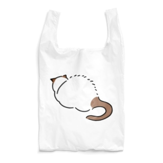 ネコ、後ろ姿、山 Reusable Bag