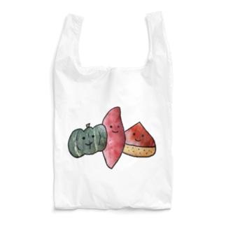 秋の味覚たち Reusable Bag