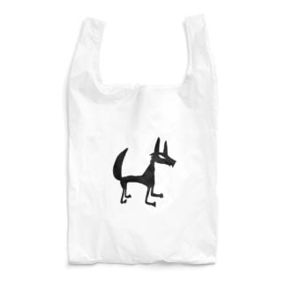 オオカミ Reusable Bag