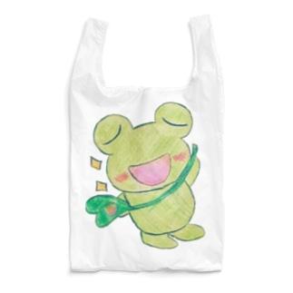 やんわり店舗(アリサ)のキリリとあめかえる Reusable Bag