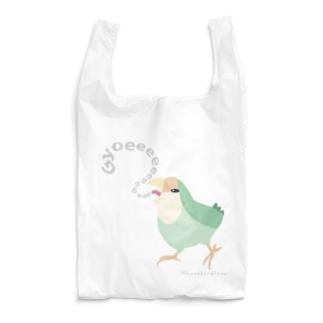 Gyoeeeeeコザクラインコ Reusable Bag