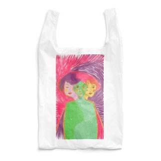 3 girls Reusable Bag
