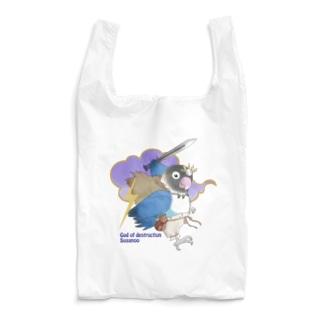 ボタンインコ(破壊神スサノオ) Reusable Bag
