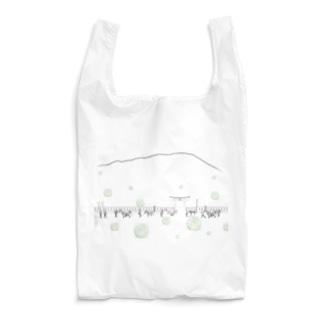 チャグチャグ馬コ行列 シャツ 緑 Reusable Bag