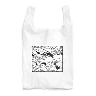 ナイロドノのぎゅうぎゅうオオサンショウウオ Reusable Bag