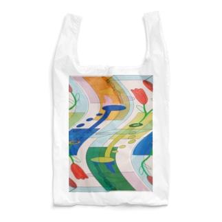 非対称:ゆがみ Reusable Bag