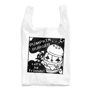 CT14 Gz かぼちゃバーガーD Reusable Bag