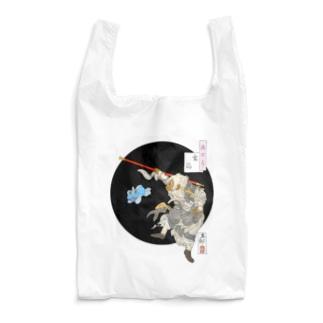 月百姿空潟(お猿のくぅ) Reusable Bag