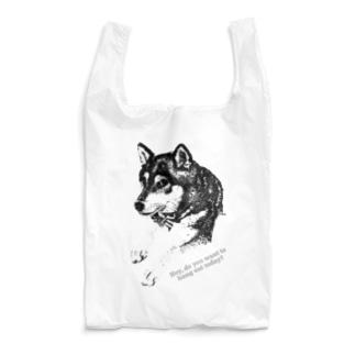 お誘い KUROSHIBA Reusable Bag