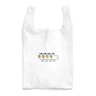 分身の術アヒルぼうやロンT Reusable Bag