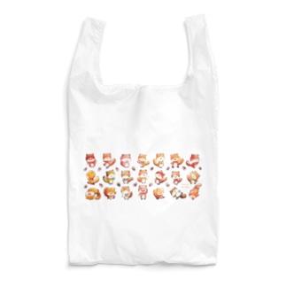 りすのくうざえもん(たくさん) Reusable Bag