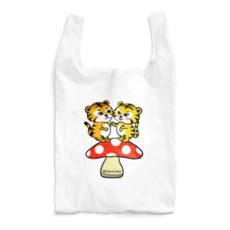 虎さんカップル きのこ Reusable Bag