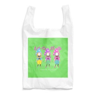 レトロ ガール Reusable Bag