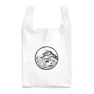 城下町にゃんこの会マーク Reusable Bag