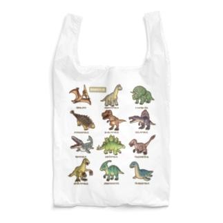 恐竜図鑑 Reusable Bag
