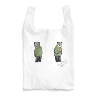 バースデーパンダ/11月(前後姿) Reusable Bag