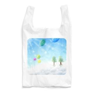 大空へ-Winter Reusable Bag