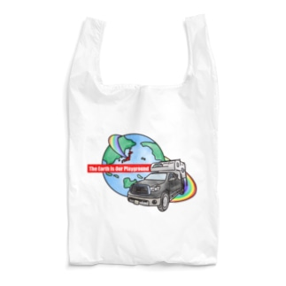 The Earth Is Our Playground  Reusable Bag