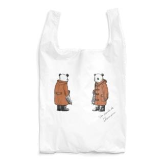 バースデーパンダ/2月(前後姿) Reusable Bag