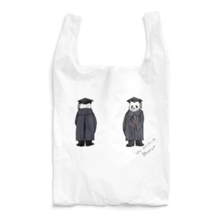 バースデーパンダ/3月(前後姿) Reusable Bag